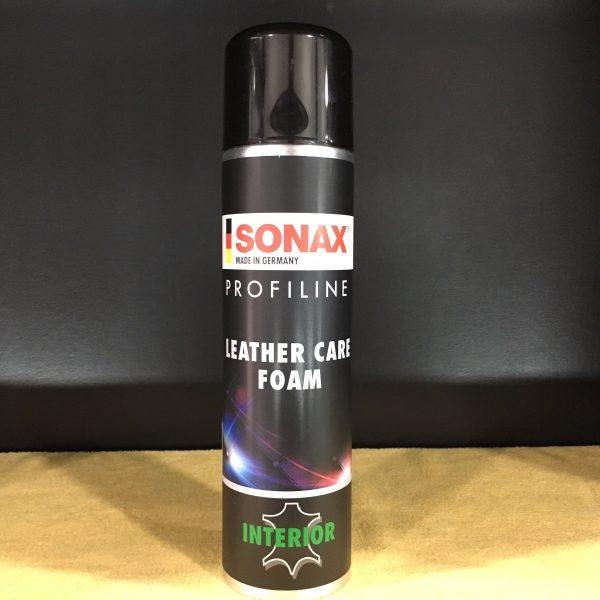 Bọt Làm Sạch, Bảo Dưỡng Da Sonax Profiline Leather Care Foam