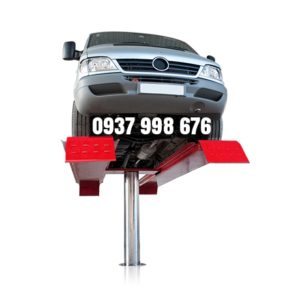 cầu nâng 1 trụ là thiết bị không thể thiếu ở tiệm rửa xe ô tô