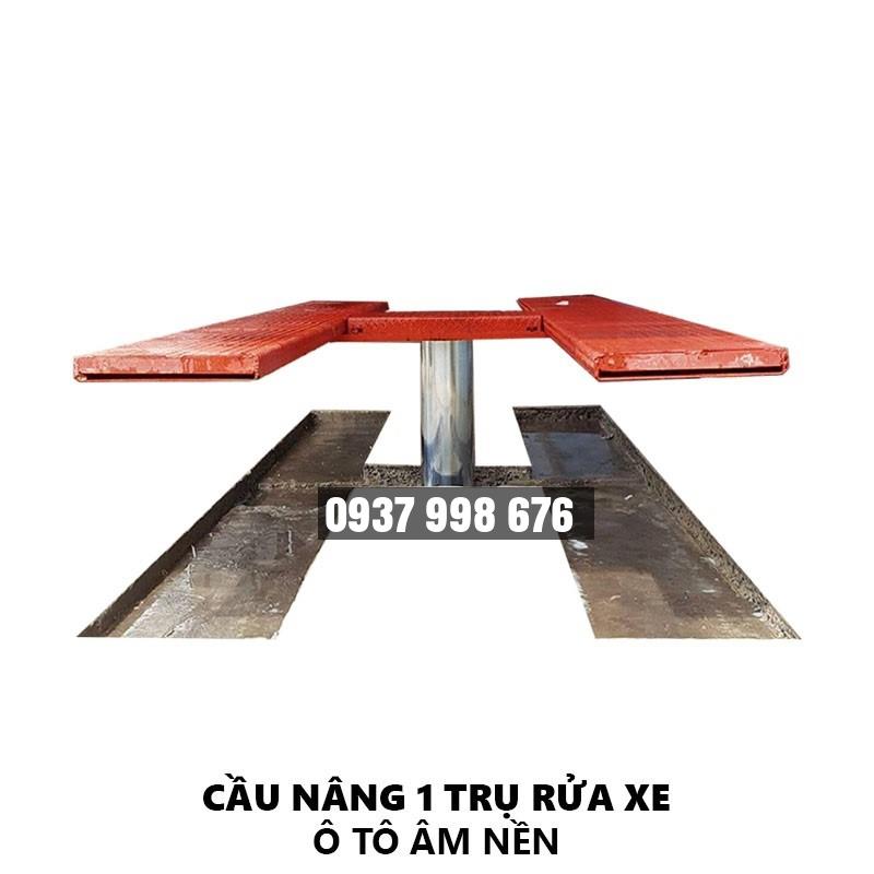 Cầu Nâng Rửa Xe Ô Tô (Model Âm Nền)
