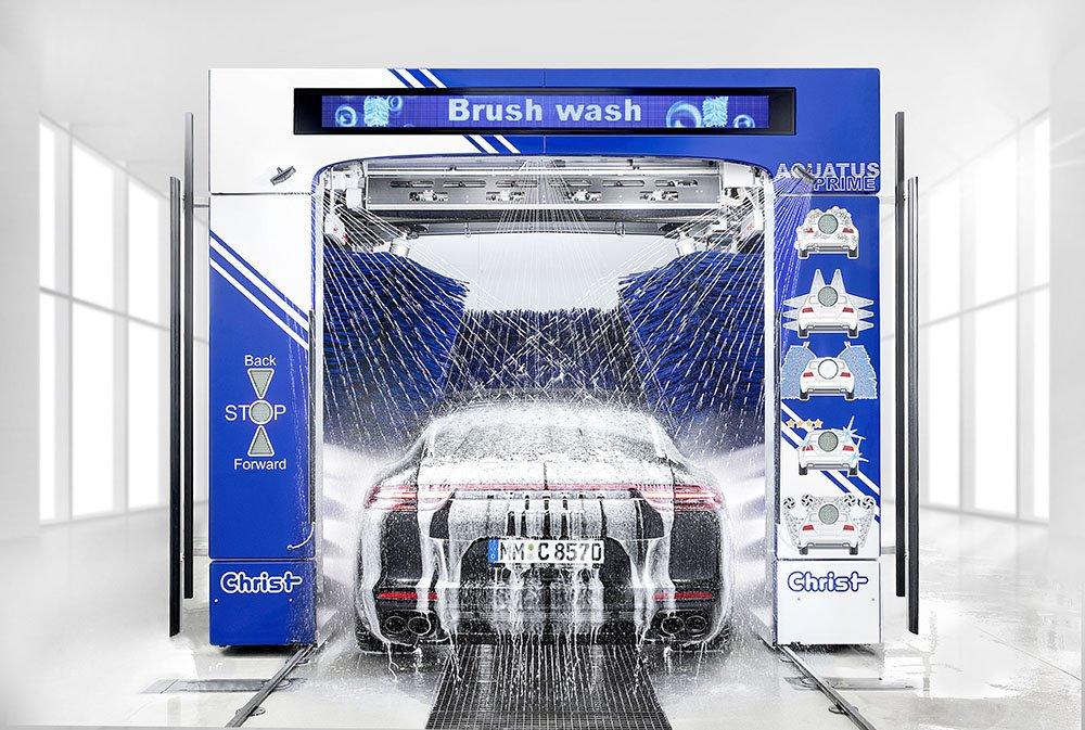 Dây Chuyền Rửa Xe Ô Tô Tự Động Made In VietNam Xuất Hiện Lần Đầu