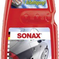 nuoc rua xe sonax wash polish