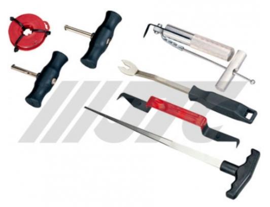 bộ dụng cụ chuyên tháo ron kính tháo nội thất ô tô
