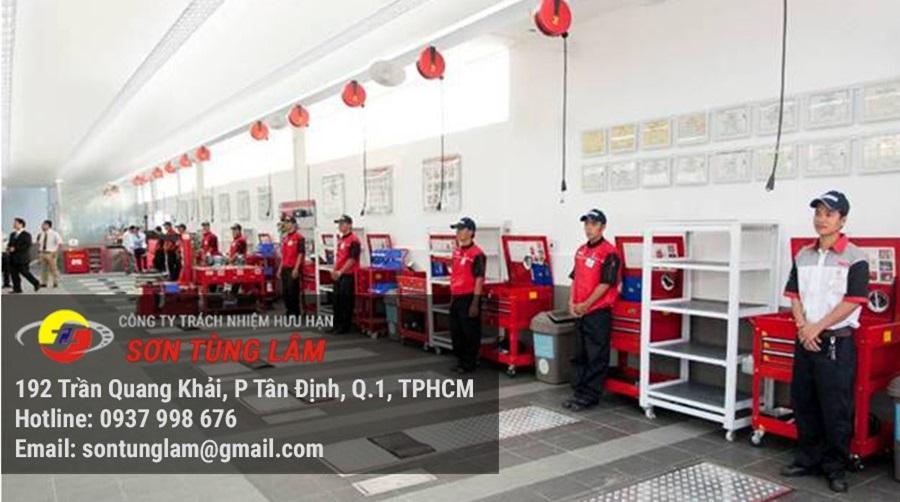 Sơn Tùng Lâm là công ty sản xuất và phân phối thiết bị rửa xe chuyên nghiệp
