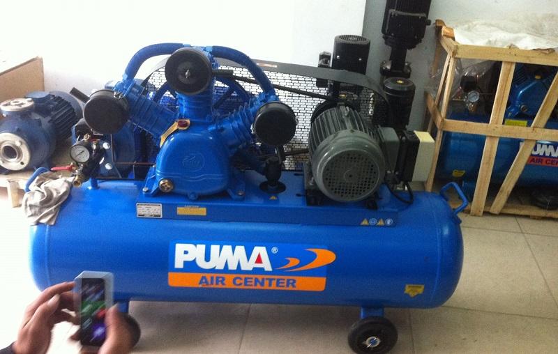 Máy nén khí Puma là thương hiệu nổi tiếng