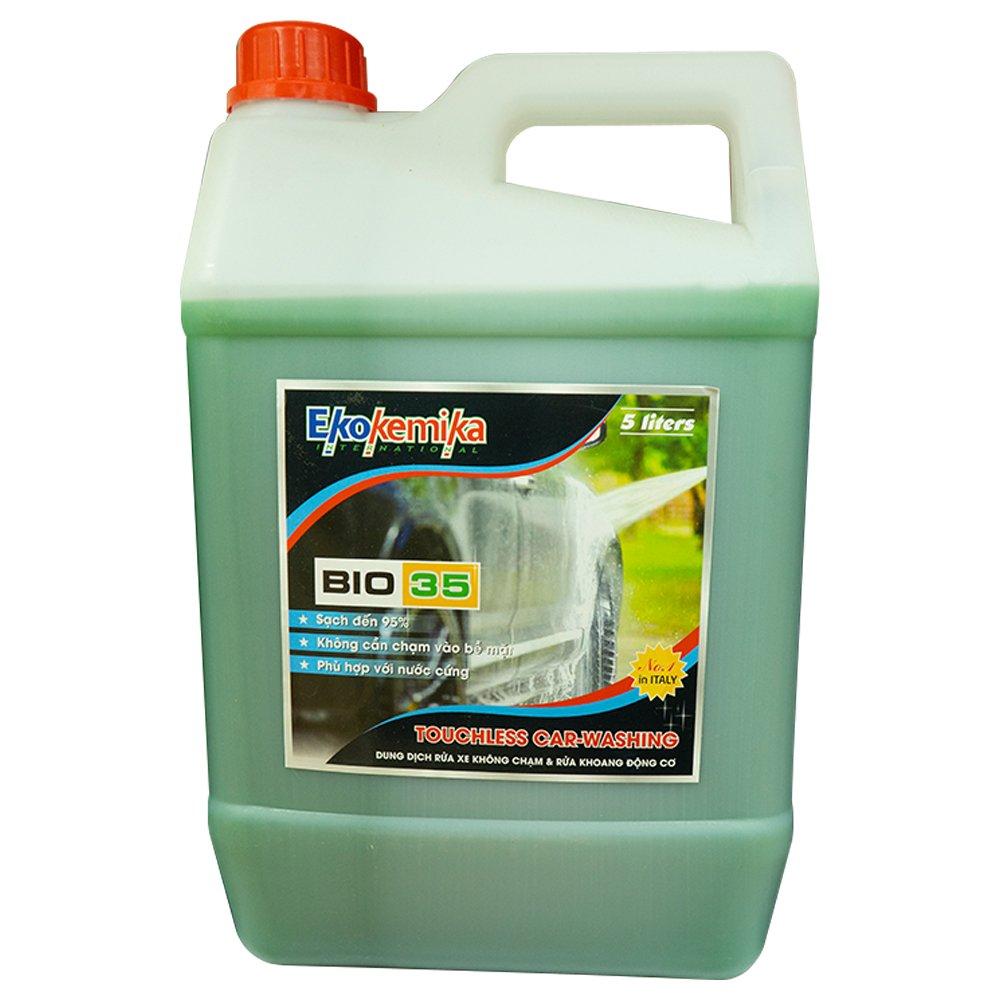 dung dịch rửa xe không chạm bio35